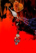 Abstract art,Surrealism art,printmaking,Orion Streaming toward the Outer Reaches