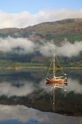 Original art for sale at UGallery.com | Reflecting Sailboat, Glencoe, Scotland by Andrew Stein | $100 | photography | http://www.ugallery.com/photography-reflecting-sailboat-glencoe-scotland-7870