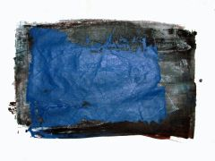 Original art for sale at UGallery.com | Untitled (Blue on Black) by Robert Darabos | $225 | printmaking | http://www.ugallery.com/printmaking-untitled-blue-on-black