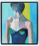 Original art for sale at UGallery.com | Beautiful Woman by Carolyn Schlam | $1,975 | oil painting | http://www.ugallery.com/oil-painting-beautiful-woman