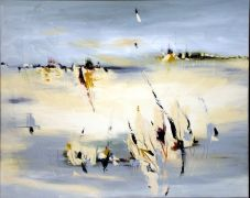 Original art for sale at UGallery.com | Hidden Dawn by Cynthia Ligeros | $975 | oil painting | http://www.ugallery.com/oil-painting-hidden-dawn