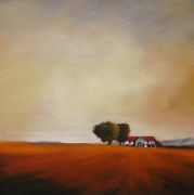 Original art for sale at UGallery.com | Late Afternoon III by Mandy Main | $475 | oil painting | http://www.ugallery.com/oil-painting-late-afternoon-iii