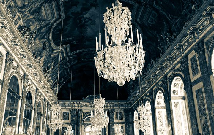 Original art for sale at UGallery.com | Hall of Mirrors - Versailles, France by REBECCA PLOTNICK | $195 |  | ' h x ' w | http://www.ugallery.com/photography-hall-of-mirrors-versailles-france