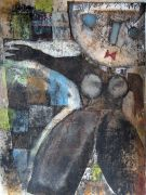 Original art for sale at UGallery.com | Tschuss by Scott Bergey | $275 | mixed media artwork | http://www.ugallery.com/mixed-media-artwork-tschuss