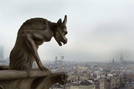 Discover Original Art by Maxwell Koepke | Notre Dame Gargoyle photography | Art for Sale Online at UGallery