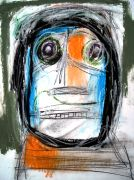 Original art for sale at UGallery.com | The Stranger by Alan Taylor Jeffries | $250 | mixed media artwork | http://www.ugallery.com/mixed-media-artwork-the-stranger