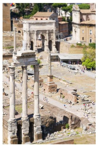 Original art for sale at UGallery.com | The Roman Forum by BRYAN SOLARSKI | $145 |  | ' h x ' w | http://www.ugallery.com/photography-the-roman-forum