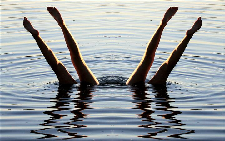 Original art for sale at UGallery.com | Dive by GREGG OTTESON | $195 |  | ' h x ' w | http://www.ugallery.com/photography-dive