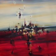 Original art for sale at UGallery.com | Blaze of Noon by Cynthia Ligeros | $2,375 | oil painting | http://www.ugallery.com/oil-painting-blaze-of-noon