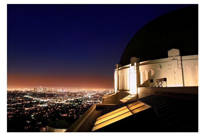 Original art for sale at UGallery.com | Griffith Observatory by DARRIN  VANGORDER | $295 |  | ' h x ' w | http://www.ugallery.com/photography-griffith-observatory