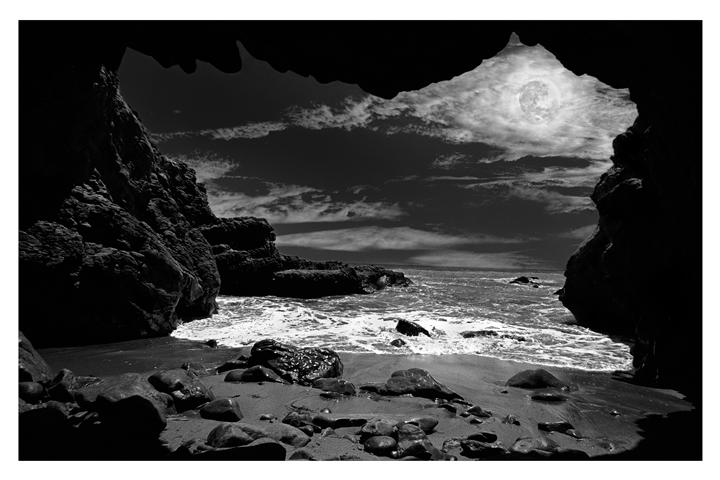 Original art for sale at UGallery.com | Leo Carrillo Nightscape by DARRIN  VANGORDER | $295 |  | ' h x ' w | http://www.ugallery.com/photography-leo-carrillo-nightscape