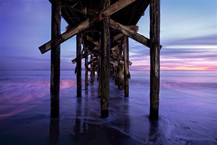 Discover Original Art by Darrin  VanGorder | Goleta Pier photography | Art for Sale Online at UGallery