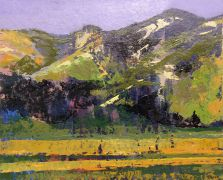 Original art for sale at UGallery.com | Carmel Valley by Sidonie Caron | $2,675 | acrylic painting | http://www.ugallery.com/acrylic-painting-carmel-valley