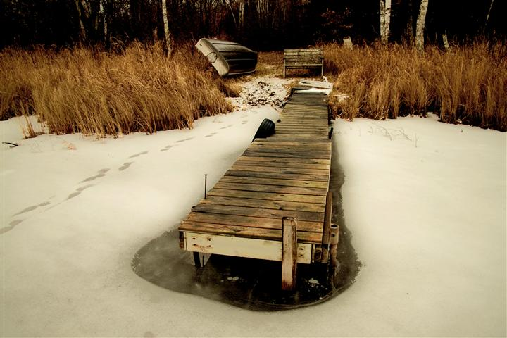 Original art for sale at UGallery.com | Off the Lake by GREGG OTTESON | $145 |  | ' h x ' w | http://www.ugallery.com/photography-off-the-lake