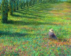 Discover Original Art by Iris Scott | Field of Dreams (Special Commission) oil painting | Art for Sale Online at UGallery