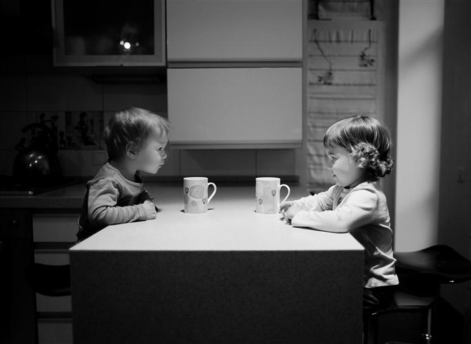 Original art for sale at UGallery.com | Important Conversation by TALIA RAINYK | $170 |  | ' h x ' w | http://www.ugallery.com/photography-important-conversation