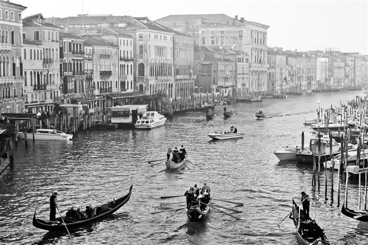 Original art for sale at UGallery.com | Early Morning on the Rialto by REBECCA PLOTNICK | $175 |  | ' h x ' w | http://www.ugallery.com/photography-early-morning-on-the-rialto