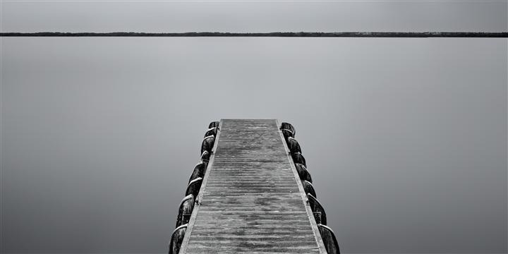 Original art for sale at UGallery.com | Silver Safety Harbor by ANDREW VERNON | $295 |  | ' h x ' w | http://www.ugallery.com/photography-silver-safety-harbor