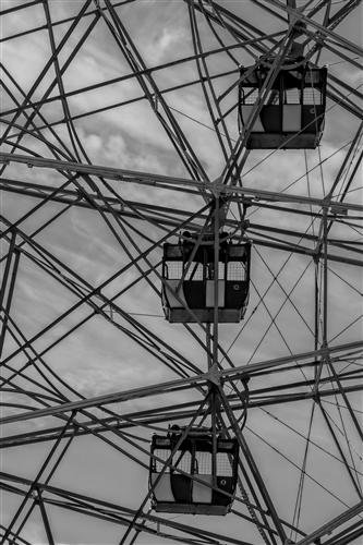 Original art for sale at UGallery.com | Ferris Wheel by ROBERT ULLMANN | $145 |  | ' h x ' w | http://www.ugallery.com/photography-ferris-wheel