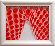 Original art for sale at UGallery.com | glasseen rouge by Philippe Jestin | $450 | other media | http://www.ugallery.com/other-media-glasseen-rouge
