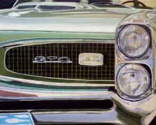 Original art for sale at UGallery.com | 1964 GTO by Patricia Freeman | $475 | acrylic painting | http://www.ugallery.com/acrylic-painting-1964-gto