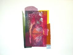 Original art for sale at UGallery.com | Sticking Out by Fumiko Toda | $850 | printmaking | http://www.ugallery.com/printmaking-sticking-out