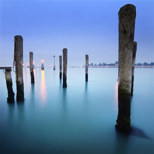 Original art for sale at UGallery.com | Blue Venetian by ETIENNE ROUDAUT | $160 |  | ' h x ' w | http://www.ugallery.com/photography-blue-venetian