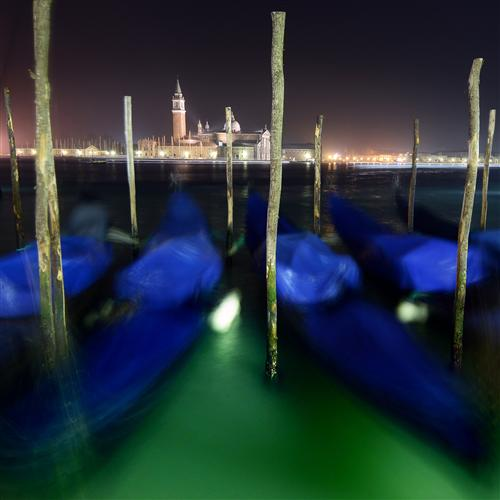 Original art for sale at UGallery.com | Green Venetian by ETIENNE ROUDAUT | $150 |  | ' h x ' w | http://www.ugallery.com/photography-green-venetian