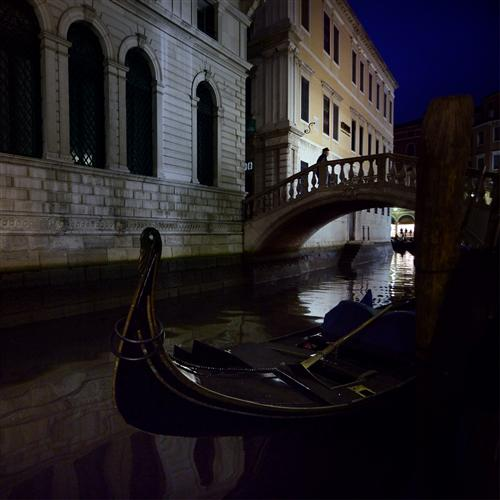 Original art for sale at UGallery.com | Venice in Black by ETIENNE ROUDAUT | $160 |  | ' h x ' w | http://www.ugallery.com/photography-venice-in-black