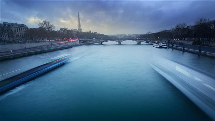 Original art for sale at UGallery.com | Paris in Green by ETIENNE ROUDAUT | $295 |  | ' h x ' w | http://www.ugallery.com/photography-paris-in-green