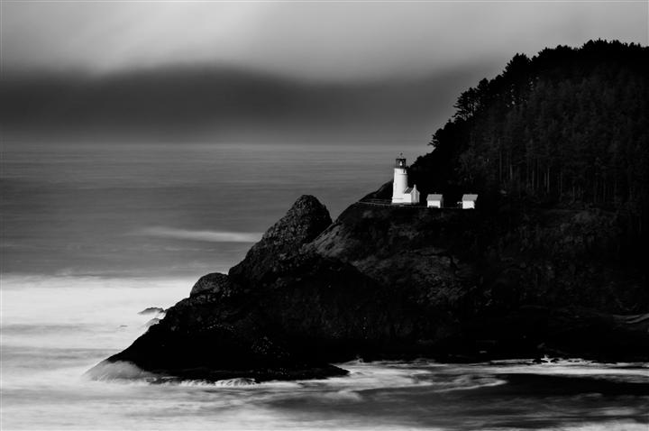 Original art for sale at UGallery.com | A Beacon in Oregon by ANDREW VERNON | $195 |  | ' h x ' w | http://www.ugallery.com/photography-a-beacon-in-oregon