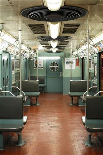 Original art for sale at UGallery.com | Subway through the Decades 1950s by REBECCA PLOTNICK | $195 |  | ' h x ' w | http://www.ugallery.com/photography-subway-through-the-decades-1950s