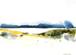 Original art for sale at UGallery.com | Valles  by Charles Ash | $225 | watercolor painting | http://www.ugallery.com/watercolor-painting-valles