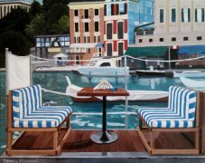 Original art for sale at UGallery.com | Portofino, Itlay by Patricia Freeman | $475 | acrylic painting | http://www.ugallery.com/acrylic-painting-portofino-itlay