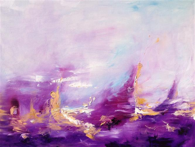Original art for sale at UGallery.com | Come Like the Wind by SARAH PARSONS | $1,875 | Oil painting | 30' h x 40' w | http://www.ugallery.com/oil-painting-come-like-the-wind