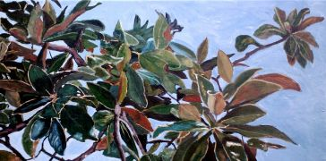 Original art for sale at UGallery.com | The Magnolia Branch by Patricia Freeman | $450 | acrylic painting | http://www.ugallery.com/acrylic-painting-the-magnolia-branch