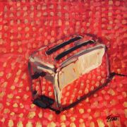 Discover Original Art by Elliot Coatney | Toaster acrylic painting | Art for Sale Online at UGallery