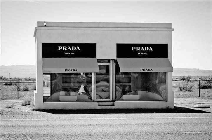Discover Original Art by Alexandra Henry | Prada Marfa photography | Art for Sale Online at UGallery