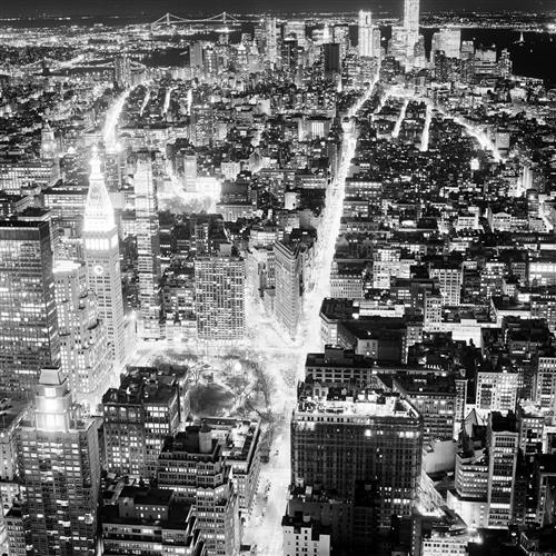 Original art for sale at UGallery.com | View of Lower Manhattan by ADAM GARELICK | $185 |  | ' h x ' w | http://www.ugallery.com/photography-view-of-lower-manhattan