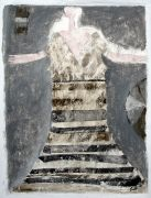 Original art for sale at UGallery.com | How Do I Look by Scott Bergey | $225 | mixed media artwork | http://www.ugallery.com/mixed-media-artwork-how-do-i-look