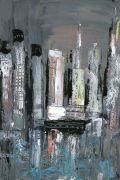 Discover Original Art by Gloria Blatt | Energy acrylic painting | Art for Sale Online at UGallery
