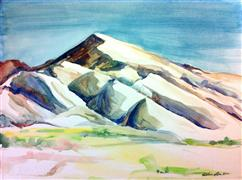 Original art for sale at UGallery.com | Capitol Reef: White Hills by Kelly Eddington | $250 | watercolor painting | http://www.ugallery.com/watercolor-painting-capitol-reef-white-hills