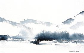Original art for sale at UGallery.com | Highlands by Charles Ash | $275 | watercolor painting | http://www.ugallery.com/watercolor-painting-highlands-25898