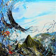 Discover Original Art by Piero Manrique | El Condor acrylic painting | Art for Sale Online at UGallery