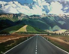 Original art for sale at UGallery.com | The Road To Perdition by Patricia Freeman | $700 | acrylic painting | http://www.ugallery.com/acrylic-painting-the-road-to-perdition