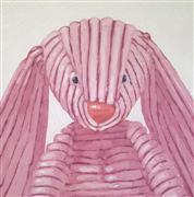 Children's art,Pop art,oil painting,Corduroy Bunny
