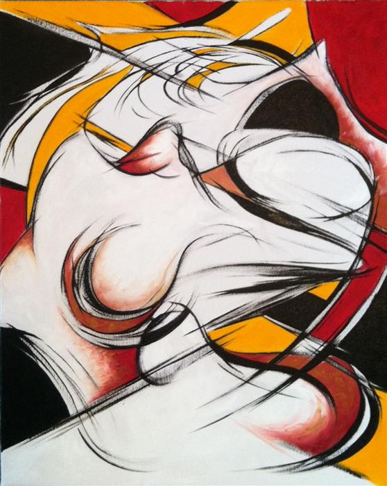 Discover Original Art by Sumner Crenshaw | Dancer 2 oil painting | Art for Sale Online at UGallery