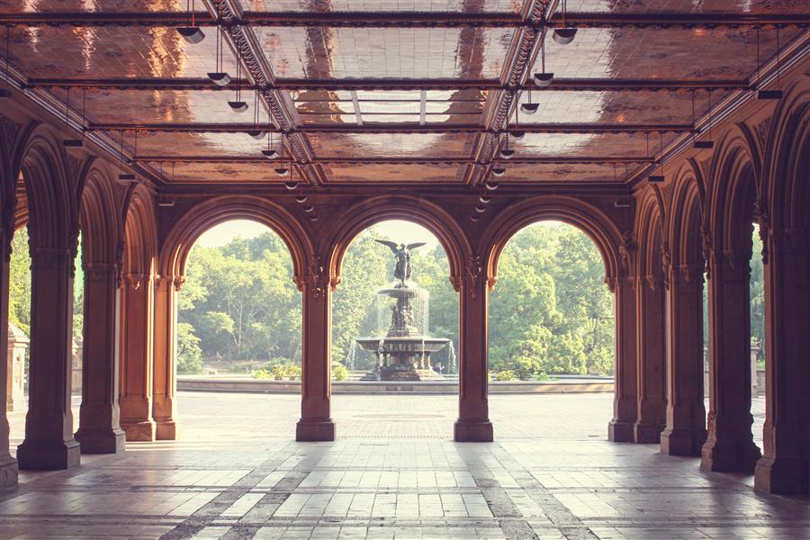 Original art for sale at UGallery.com | Early Morning in Central Park by REBECCA PLOTNICK | $220 |  | ' h x ' w | http://www.ugallery.com/photography-early-morning-in-central-park