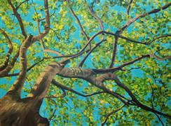 Original art for sale at UGallery.com | A Brethren of The Wood by Patricia Freeman | $1,475 | acrylic painting | http://www.ugallery.com/acrylic-painting-a-brethren-of-the-wood