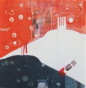 Abstract art,printmaking,IsItABird?